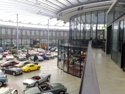Artikelbild für: Fotos vom Meilenwerk Düsseldorf – Location & Eventdienstleistungen für Autoliebhaber