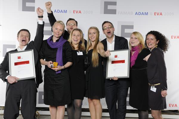 Artikelbild für: Social-Media beim ADAM & EVA Award 2010 – eveos ist als Medienpartner dabei!