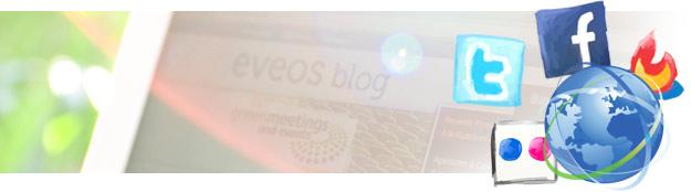 Artikelbild für: eveos im Internet: Folge uns, werde Fan und vernetze dich!