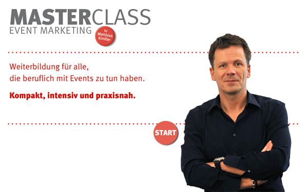 Artikelbild für: Neues Weiterbildungsformat: MasterClass Event Marketing – Expertenwissen tanken & kreative Agenturluft schnuppern
