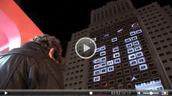 Artikelbild für: Interaktive Projektion & Lichtinstallation