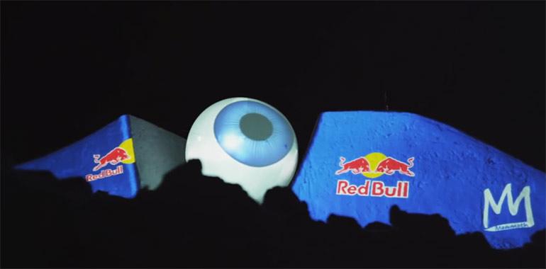 Artikelbild für: Red Bull Off The Planet: Schnee als Projektionsfläche für Events