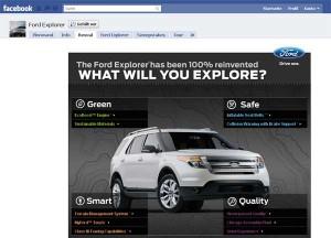Artikelbild für: Live-Events & Social Media verbinden: Ford machts bei facebook vor!