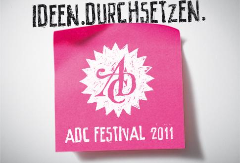 """Artikelbild für: ADC Festival 2011: """"Ideen.Durchsetzen."""" – auch im Event-Marketing!"""