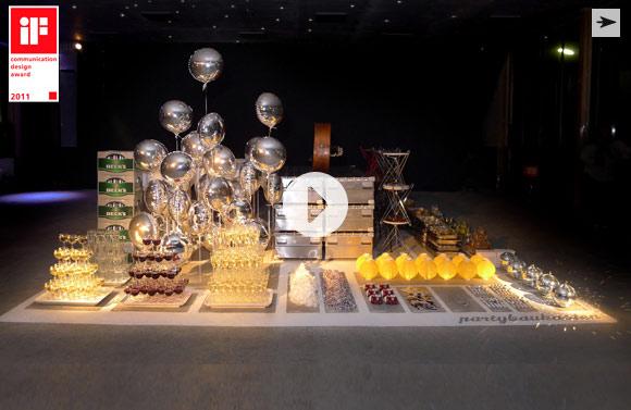 Artikelbild für: Ein Partybaukasten von der Agentur raumservice