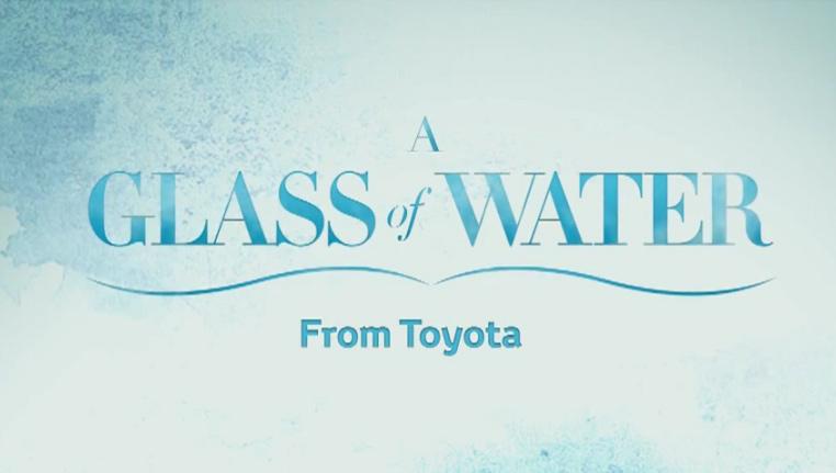 Artikelbild für: Toyota Promotion – Glass of Water: autofahren, Benzin sparen & spielen
