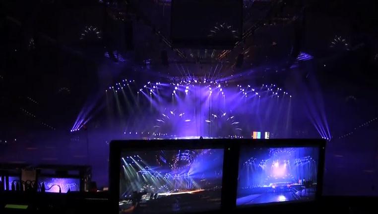 Artikelbild für: Ein Blick hinter die Kameras des Eurovision Song Contest 2011 & was mit der teuren Bühne danach passiert