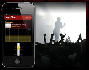 Artikelbild für: Online Applausometer: Echtzeit Publikums Feedback für Events mit der Ovation App
