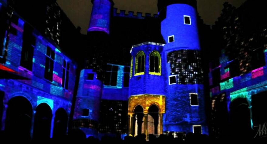 Artikelbild für: Licht Festival Gent 2011: Mapping von Mr. Beam