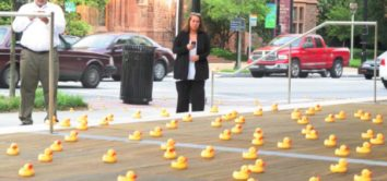 Rubber Ducks - Guerilla Marketing