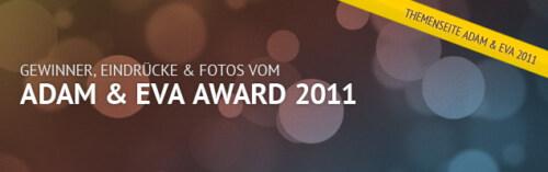 Themenseite: ADAM & EVA Award 2011 in Mannheim