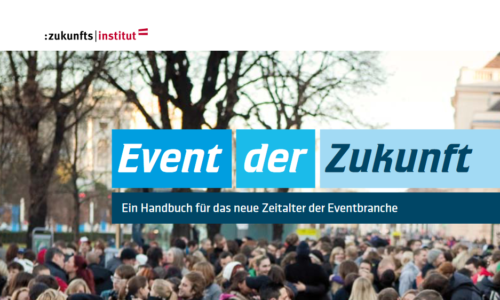 Artikelbild für: Event der Zukunft: Veranstaltungsformate mit Zukunft – kostenlose Broschüre