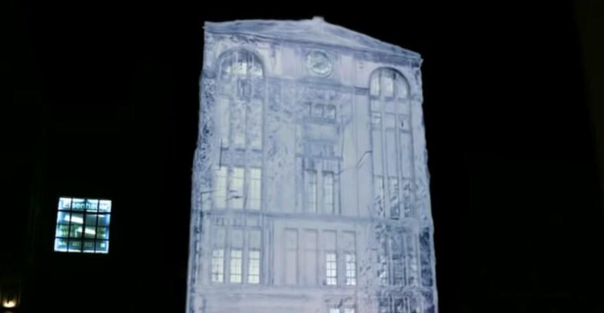 Artikelbild für: 3D Projection Mapping: LG Optimus in Berlin
