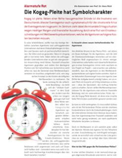 Artikelbild für: Lese-Tipp: Die Kogag Pleite hat Symbolcharakter von Prof. Dr. Hans Rück