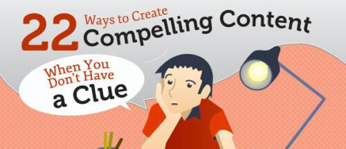 Artikelbild für: 22 Tipps: wie findet man interessanten Content? – Infografik