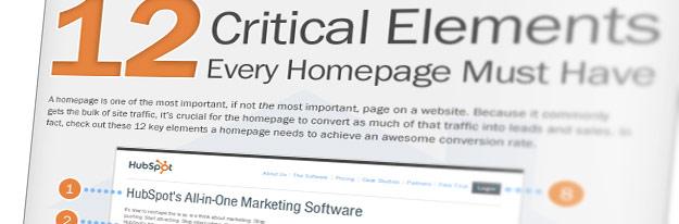 Artikelbild für: 12 Punkte, die eine Website haben sollte – Infografik