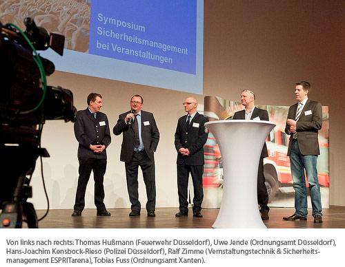 Artikelbild für: Sicherheit ist keine Einzel-, sondern eine Kollektivaufgabe: 1. Symposium Sicherheitsmanagement bei Veranstaltungen