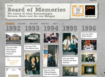 Artikelbild für: 20 Jahre Erinnerungen – JOKE Event AG feiert Jubiläum