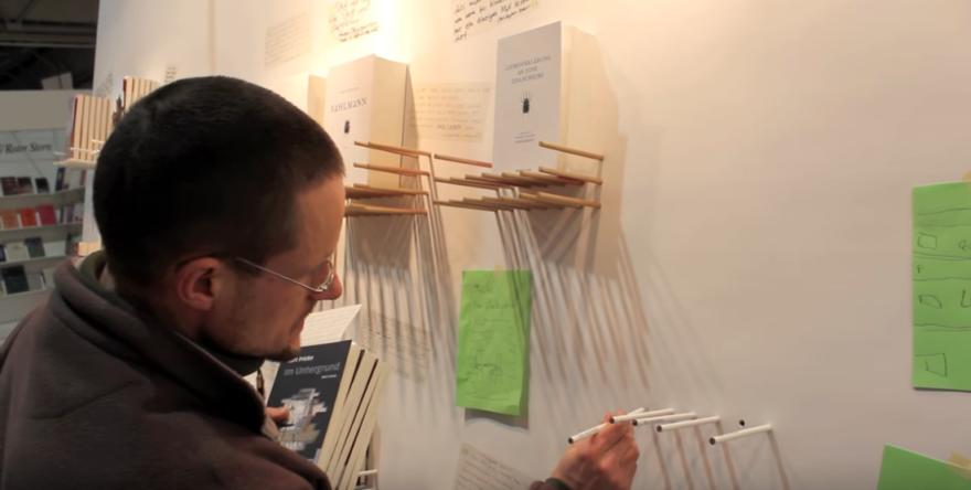 Artikelbild für: Ein kreativer & interaktiver Messestand auf der Buchmesse Leipzig