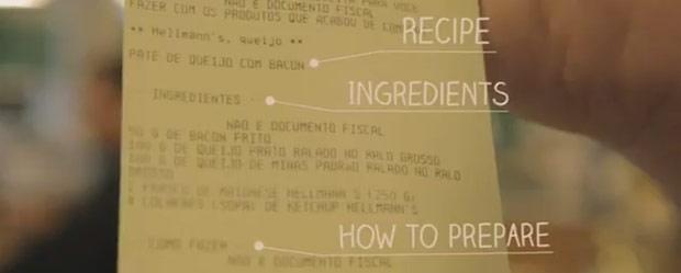 Artikelbild für: Marketing mit Mehrwert – Hellmann's Rechnung mit Rezept