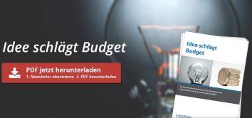 Idee schlägt Budget PDF