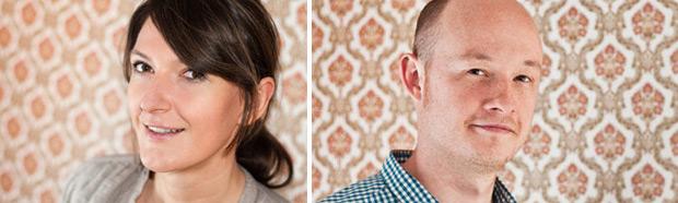 Wir sind Katharina Falkowski und Henning Stein.