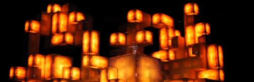 Artikelbild für: Faszinierendes Setdesign – Live-Show von Amon Tobin