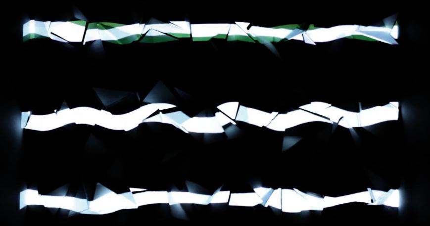 Artikelbild für: Experimentelle Licht Skulptur