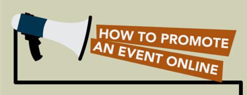Artikelbild für: Wie man ein Event im Internet promotet – Infografik