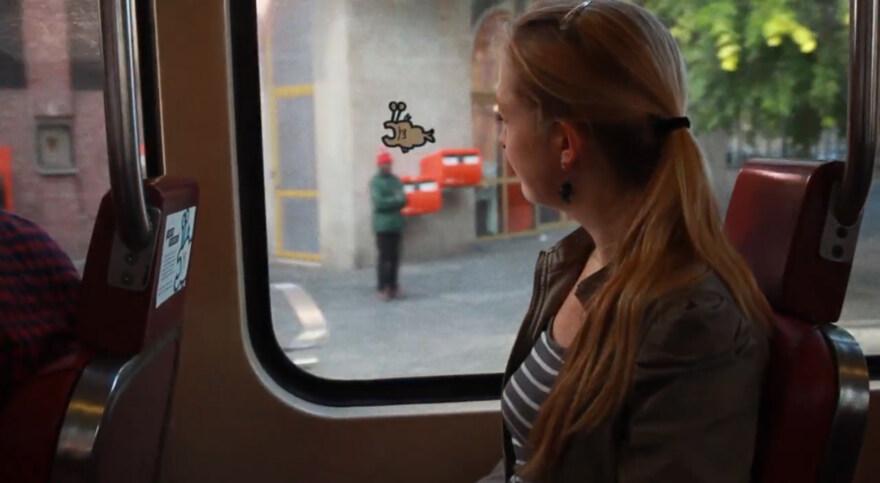 Artikelbild für: Analoges Spiel für Bus und Tram: Man-eater & GVBeestje