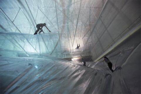 Artikelbild für: Spaziergang in den Wolken – Installation: On Space Time Foam