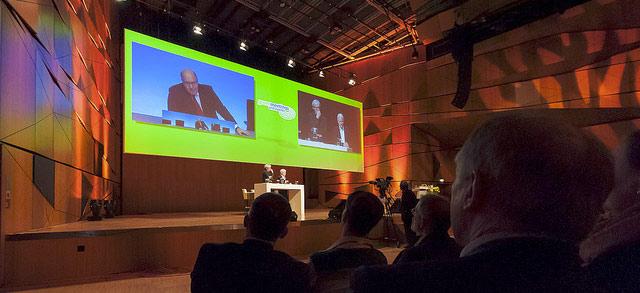 Artikelbild für: Nachbericht & Fotos der zweiten greenmeetings und events Konferenz 2013 im Darmstadtium