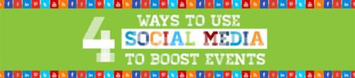 Artikelbild für: 4 Wege Social Media bei Events einzusetzen – Infografik