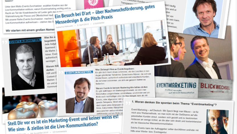 Artikelbild für: 3 Jahre eveosblog für Eventmarketing: eure besten Aussagen, Interviews & Kommentare
