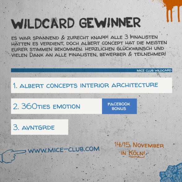 Artikelbild für: Wildcard Gewinner des 1. MICE Club Events in Köln