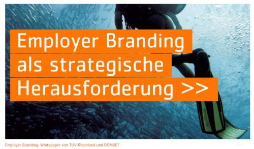 """Artikelbild für: White Paper """"Employer Branding""""  – viele Unternehmen schätzen Mitarbeiterwünsche falsch ein"""