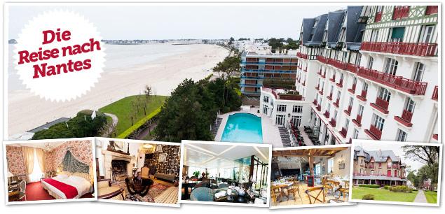 Artikelbild für: Events & Incentives in Frankreich: weite Strände, Meer & französische Gourmet Küche an der Küste bei Nantes