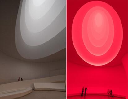 Artikelbild für: Raum-Licht-Installationen von James Turrell