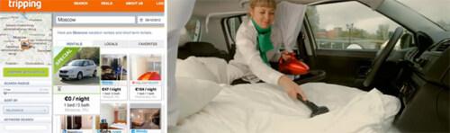 Artikelbild für: Clevere Online-Offline Promotion: Skoda Hostel – das erste Hotelzimmer in einem Auto