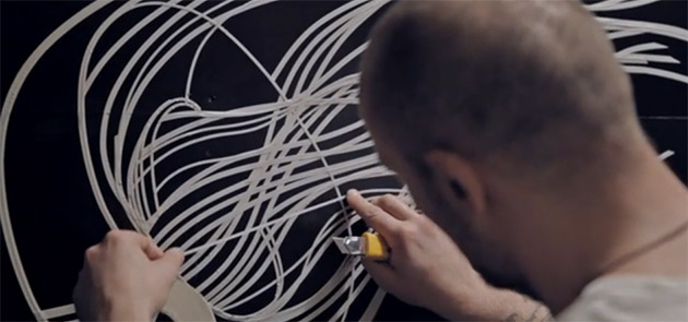 tape-art-videomapping