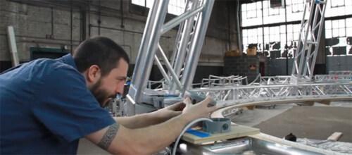 Artikelbild für: Making-Of der Raum-Licht-Installation von James Turrell im Guggenheim New York