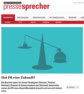 Artikelbild für: Public Relations: neue Aufgaben vs. alte Methoden! Warum die alte PR nicht mehr funktioniert – Lese-Tipp