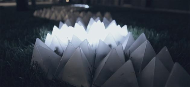 Artikelbild für: Interaktives Licht – Installation Constellaction