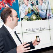 Fotos der 150 Jahre Bayer Jubiläums-Ausstellung Foto