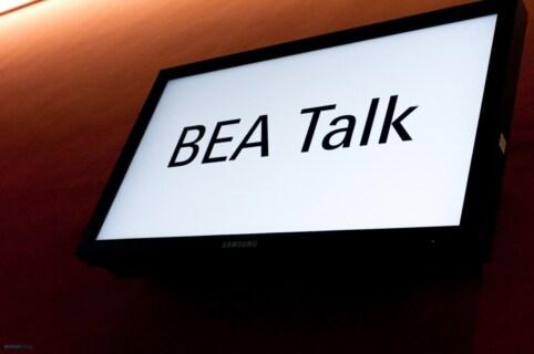 Artikelbild für: Fotos vom BEA Talk, Frankfurt 2012