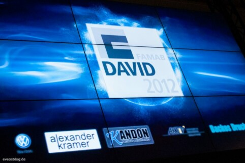 Artikelbild für: Fotos vom DAVID Award 2012