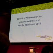 Fotos der greenmeetings & events 2011 in Mainz Foto