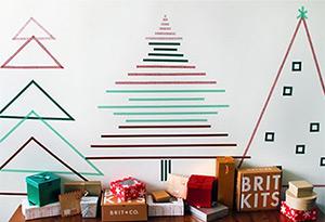 event deko ideen weihnachtsdekoration im b ro auf der. Black Bedroom Furniture Sets. Home Design Ideas