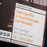 "Fotos des DASA Szenografie Kolloquium ""Zur Topologie des Immateriellen"" Foto"
