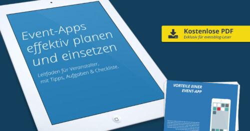 Artikelbild für: Event-Apps richtig planen & einsetzen – Kostenloser Leitfaden für Veranstalter mit Tipps & Anleitungen